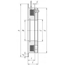Муфта одноповерхностная  тормозная  Э1ТМ.ЕСМ 5-120