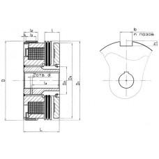Контактная масляная муфта Э1ТМ032