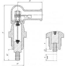 Щеткодержатель  ЭМЩ 2А(М)-60
